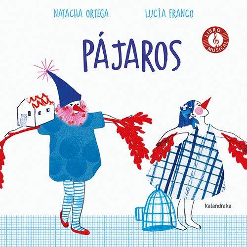 Pájaros, de Natacha Ortega. Libros de poesía ilustrados