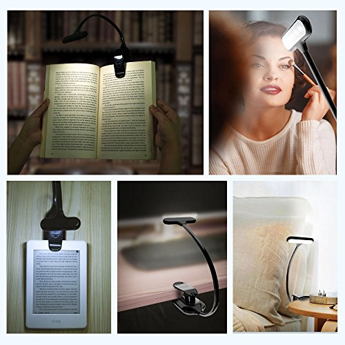 OCOOPA-LED-Book-Lights-Rechargeable-Clip-in-Light-3-Lighting-Modes-9-LEDs-Eye-Protection-Reading-Lamp-up-to-40-Hours-Reading-Perfect-for-Reading-Book-Kindle-Piano-Score-Computer