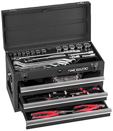 トネ(TONE) ツールセット TSS450BK 差込角12.7mm ブラック 内容62点 B002P8Q676 ブラック