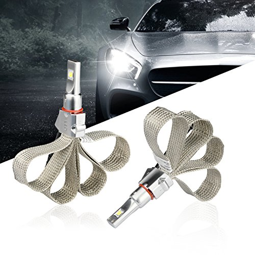 Led Headlight Bulbs H7 CREE 48W Fanless Cool White 4800LM 6500K IP65 Waterproof Headlight Conversion Kit