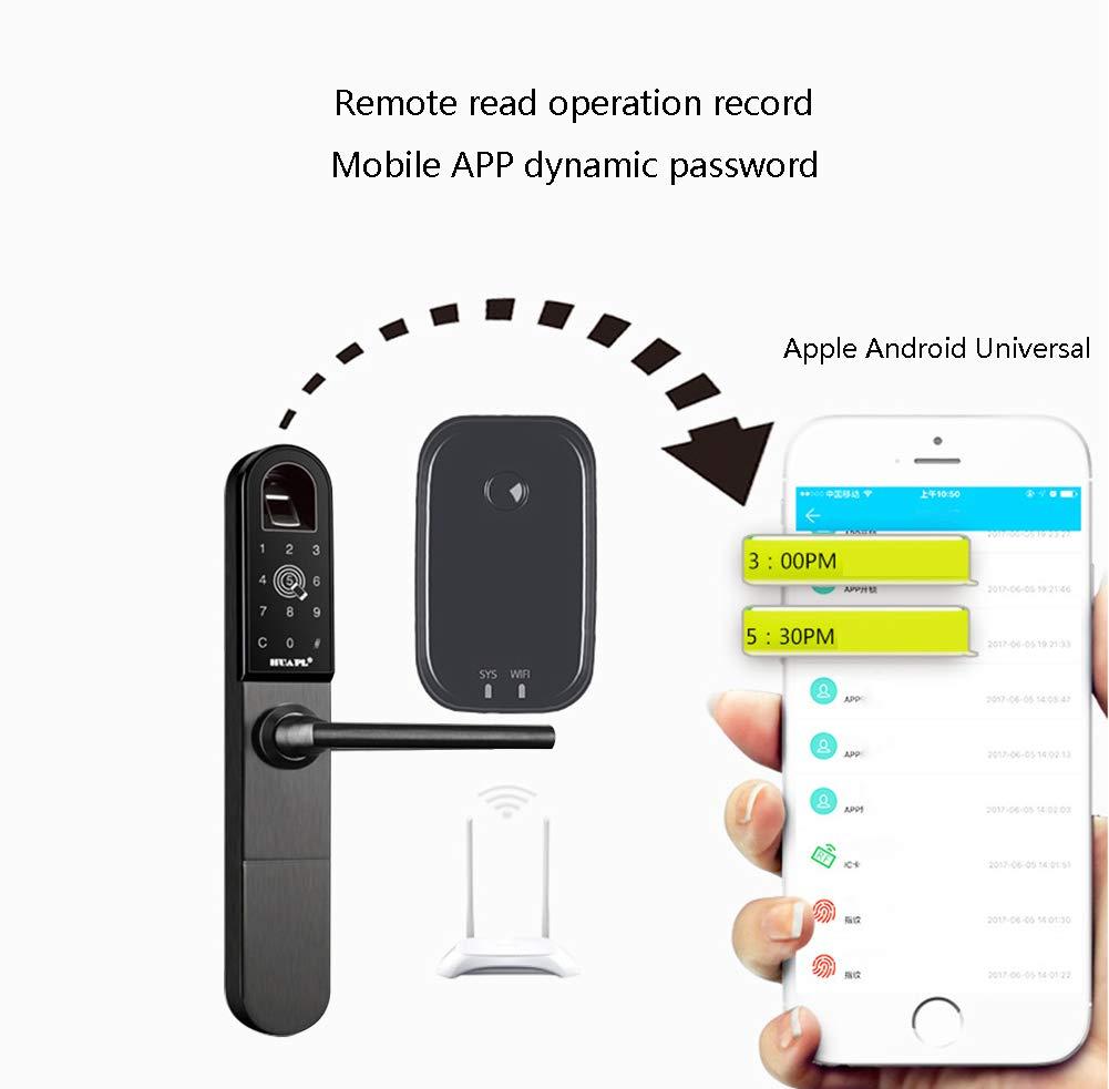 Cerraduras Biométricas De Huellas Dactilares, Contraseña / APP / Bluetooth / Tarjeta De Proximidad, Seguridad Antirrobo Sin Llave, Cerradura De Puerta ...