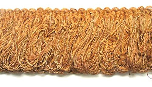 Expo International Chenille Loop Fringe Trim, 10 yd, Gold