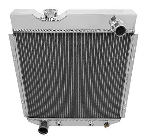Champion Cooling, 4 Row All Aluminum Radiator for Ford Falcon, MC251 ()