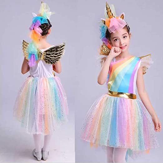 Super Tag Fashion - Disfraz de Unicornio para niñas, Princesa ...