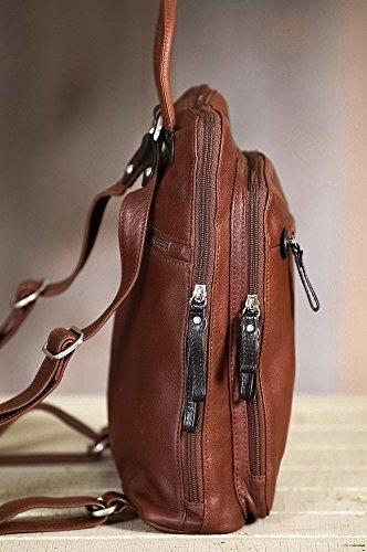 Macy Leather Backpack Purse by Overland Sheepskin Co (Image #3)