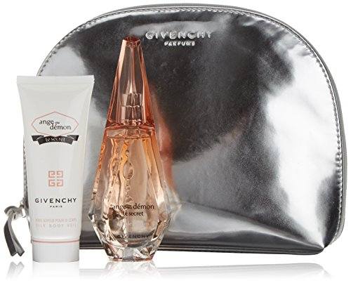 Ange Ou Demon Le Secret by Givenchy for Women 3 Piece Set Includes: 1.7 oz Eau de Parfum Spray + 2.5 oz Silky Body Veil + Travel (Silky Body Veil)