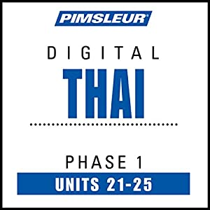 Thai Phase 1, Unit 21-25 Audiobook