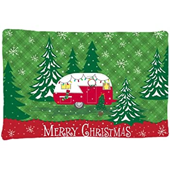 Carolines Treasures BB8436PILLOWCASE Gordon Setter Christmas Fabric Standard Pillowcase Multicolor Caroline/'s Treasures BB8436PILLOWCASE Gordon Setter Christmas Fabric Standard Pillowcase Standard