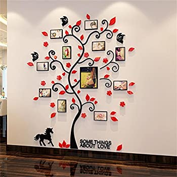 Amazoncom 3D Picture Frames Family Hope Tree Wall Murals for