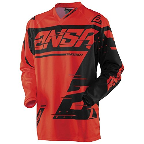 Answer Racing Syncron Youth Motocross Riding Jersey - Red - Youth X-Small
