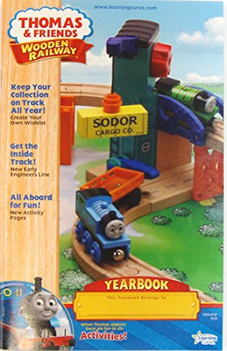 Thomas Wooden Railway Train 5 Collector Yearbooks From 2006 2014