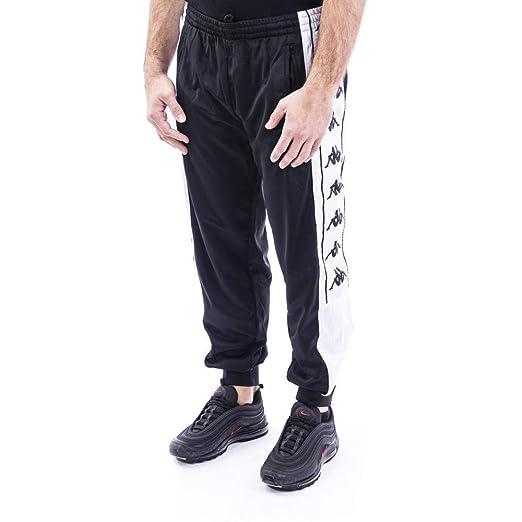 Kappa Pantalones 222 Banda 10 Alenz Negro XS (X-Small): Amazon.es ...