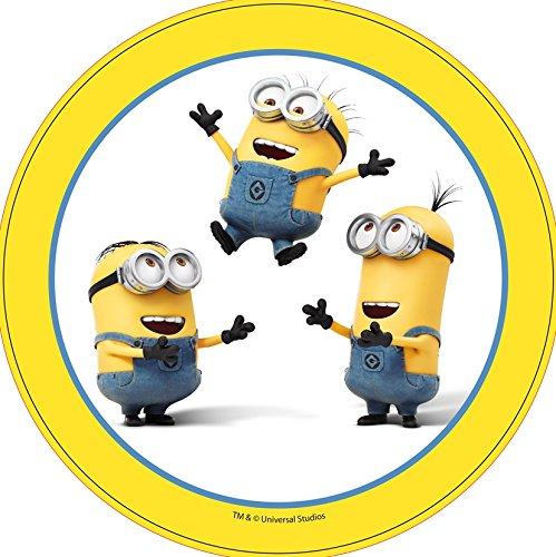 Tortenaufleger Minions gelb