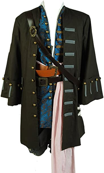 Daiendi de piratas del Caribe 4: Jack Sparrow disfraz para adulto ...