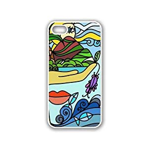phone covers Abstract Glass Art White iPhone 5c & 5c Case - Fits iPhone 5c & 5c