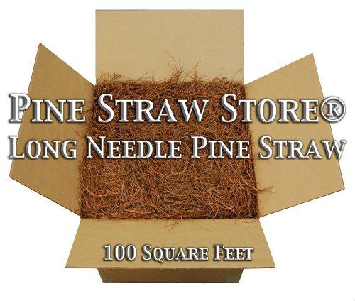 Pine Mulch - 14''long - 200 Sqft by Pine Straw