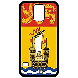 New Brunswick Flag Black Samsung Galaxy S5 Cell Phone Case - Cover
