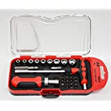 Screwdriver Tool Set,Bolt Screwdriver, Can Replace The Different Specifications of The Screwdriver Tool (Red29Head ScrewDriver)