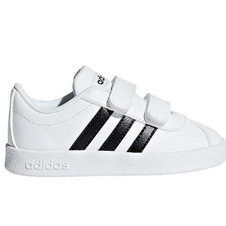 Adidas VL Court 2.0 CMF I – Tennisschuh, Kinder, Weiß ...