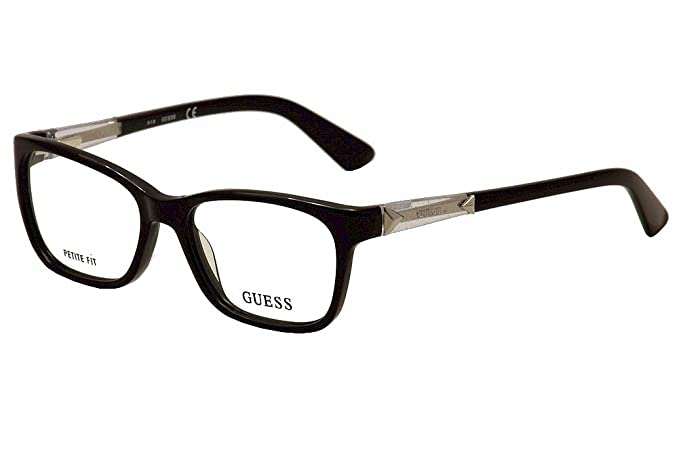 Guess Eyeglasses GU2561 GU/2561 001 Black Optical Frame 50mm (Petite ...