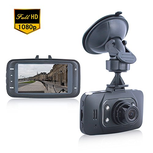Lecmal GS8000 Dash Cam Recorder / Night Vision DVR Motion Detection DVR Recorder / 2.7