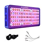 JUHANG 900W Double Switch LED Grow Light Full Spectrum 430-730nm With Electroplated Reflectors For Indoor Plants and Flower Hydroponic Plants Veg