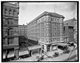 Photo: Gayoso Hotel,commercial facilities,buildings,Floral,Memphis,Tennessee,TN,1900