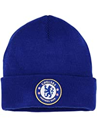 Official Soccer/Football Merchandise Adult Chelsea FC Core Winter Beanie Hat