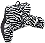 Brentwood Animal Fur Bedrest, Zebra