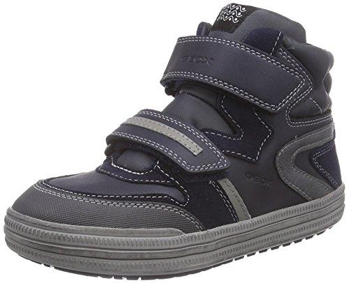 Geox Jr Elvis - Zapatillas de deporte para niño Blu (Blau (C0661NAVY/GREY))