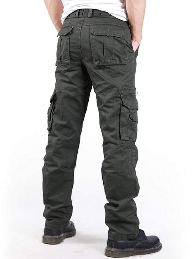 Adriat Mens Outdoor Trousers Cargo Multi Pockets Pants