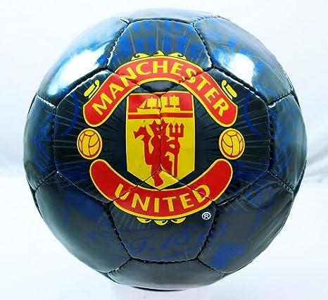 Rhinox Handsewn Futbol Balón de fútbol – Negro con Rojo Ondulado ...
