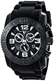 Swiss Legend Men's 10067-BB-01 Commander Analog Display Swiss Quartz Black Watch
