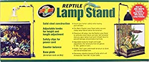 Zoo Med Reptile Lamp Stand, Full Size by Zoo Med Laboratories