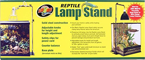 Zoo Med Reptile Lamp Stand, Full Size by Zoo Med