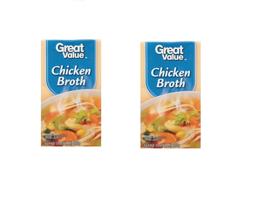Amazon Great Value Ready To Serve Broth Chicken 32 Oz Pack