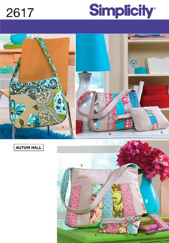 Misses Bags and Accessories by Autum Hall for Simplicity Pattern 2617
