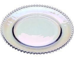 PRATO CRISTAL PEARL RAINBOW 20cm