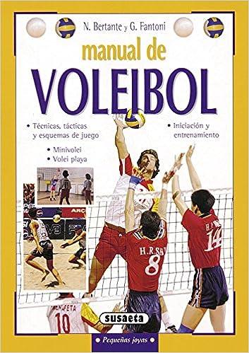 Book's Cover of Manual De Voleibol (Pequeñas Joyas) (Español) Tapa blanda – 1 abril 2004