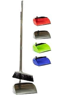 10F00131 Lobby Dust Pan /& Brush Set GREY