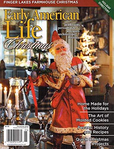 Early American Life Christmas Magazine December 2019: Amazon.