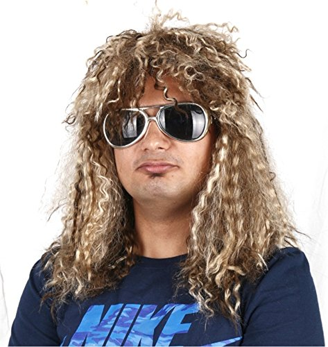 80s Adult Costume Wig - 3
