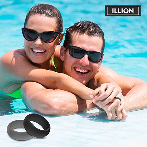 Illion Silicone Wedding Ring Protects You and Your Band ...