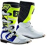 Gaerne 2166-050-05 SG-J Youth Boots (White/Blue/Yellow, 5)