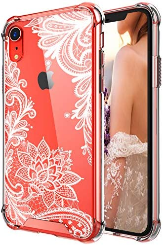Case for iPhone XR,Cutebe Shockproof Series Hard PC+ TPU Bumper Protective Cover for Apple iPhone XR 6.1 Inch 2018 Release White