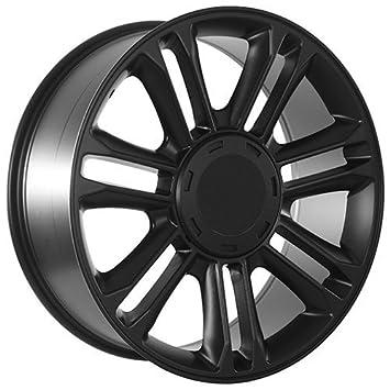 Amazon.com: 22 Inch Matte Black Cadillac Escalade Rims Wheels ...