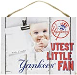 "KH Sports Fan 10""x8"" New York Yankees Clip It Weathered Baby Logo Photo Frame, 10"" x 8"""