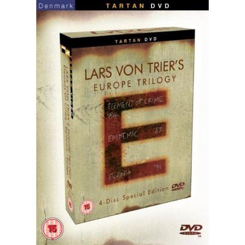 Lars Von Trier Europe Trilogy - 4-DVD Box Set ( Lars Von Trier's Europe Trilogy: Element Of Crime / Epidemic / Europa ) ( Forbrydelsens element / [ NON-USA FORMAT, PAL, Reg.0 Import - United Kingdom ] (Elements Boxed)