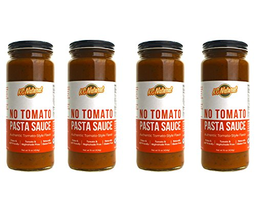 KC Natural No Tomato Pasta Sauce (16oz) - - No Spaghetti Sauce Tomato