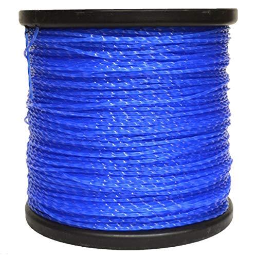5lb Roll 095 Blue Super Twist Trimmer Line Fits Echo, Stihl, Redmax, ()